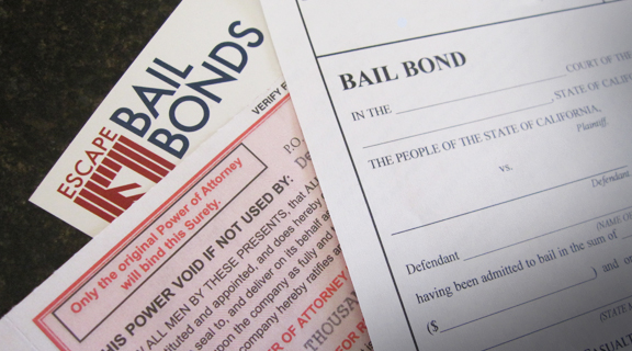 Escape bail bonds card-color