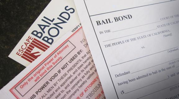 Escape bail bonds card-color